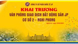 Sàn giao dịch BĐS JPLand khai trương chi nhánh Nghi Phong